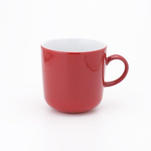 Kaffeebecher 0,30ltr. PRONTO COLORE ROT Kahla Porzellan**6 (6 Stück)