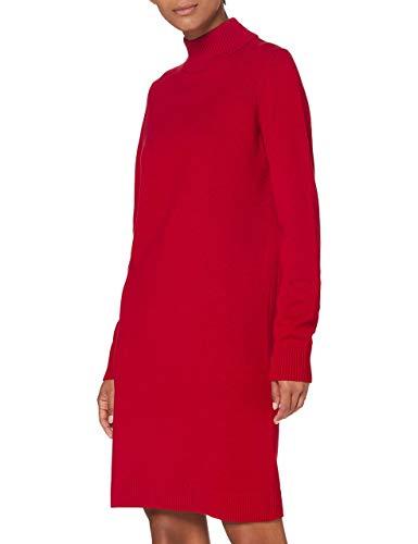 BOSS Damen C_fabelletta L ssiges Kleid, Bright Red620, S EU
