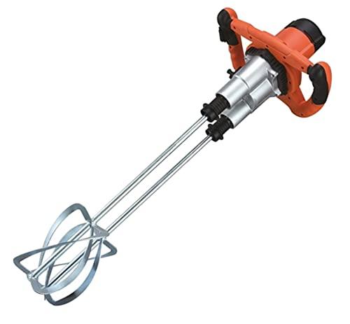 SIRL Profi Rührwerk B 1800 Twin (Handrührwerk, 1800 Watt Leistung, Stablänge 570mm, Rührquirl Ø 120mm, Doppelrührquirl, 2 Geschwindigkeiten) orange B000001603