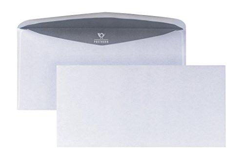 POSTHORN envelop (105x215mm) natklevend wit 70g 1000 stuks
