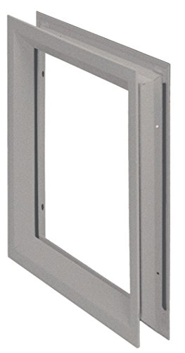 National Guard L-FRA100 12' x 12' NGP Low Profile Vision Lite Kit for Door Opening Cutout, 12' x 12'
