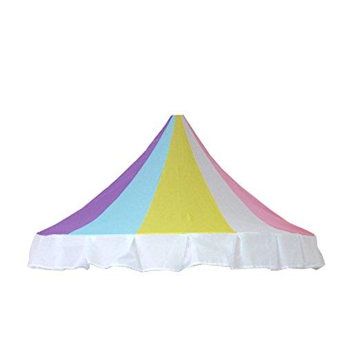 Kinder Spiel Zelt Halbmond Zelt Hochwertige Tuch Mesh Indoor 3 Jahre Alt Kinder Einfach Zu Demontieren Einfache Mode Kinder Urlaub Geschenk(Pink)