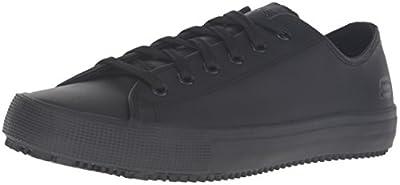 Skechers for Work Women's Arispel Work Shoe,Black,9 M US