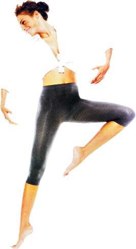 Solidea Silver Wave Pantaloni stile corsaro Nero L