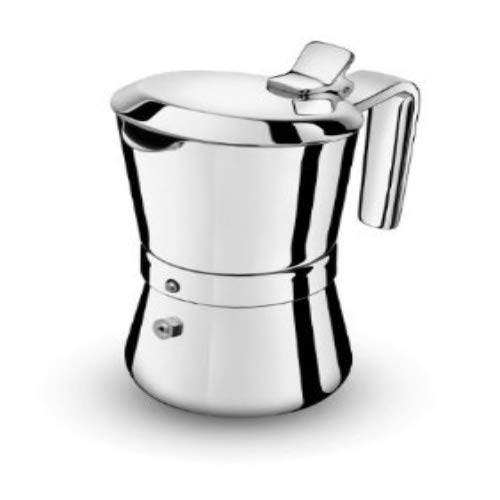 GIANNINI 3003010 Cafetière italienne, Silber