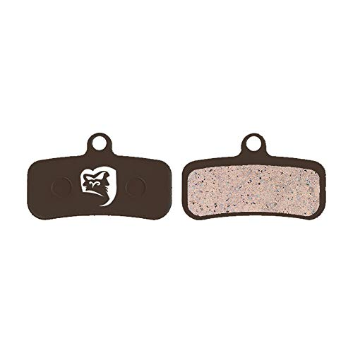 Gorilla Brakes - Juego de 4 Pastillas de Freno de Disco semimetálicas Shimano Saint M810 M820 Zee M640