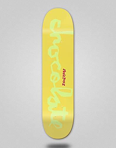 Chocolate Skateboard Deck Chunk Perez Yellow 8.375