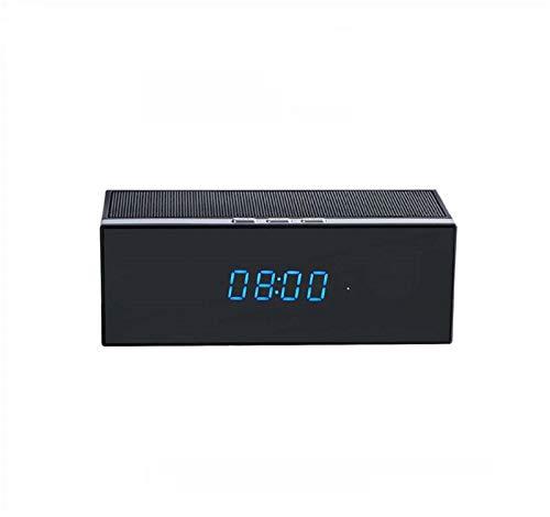 Cámara De Audio Bluetooth Oculta Espía WiFi, Gran Angular De 140 °, con Visión Nocturna/Detección De Movimiento/Grabación En Bucle, Cámara De Cuidado De Niños, para Monitoreo En El Hogar