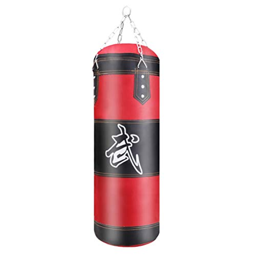 Hbao Training Fitness Boxing Empty Punching Bag Sport Kick Sandbag Kickboxing Muay Thai Boxer Gym Musculation Sandbag (Size : 80cm)