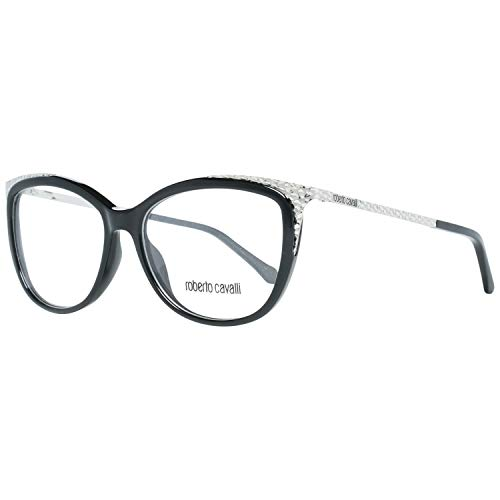 Roberto Cavalli RC5031 Gafas de sol, Negro (Negro Lucido), 54.0 Unisex Adulto