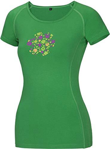 Ocun Bamboo Women's T Meadow Spring Green XL