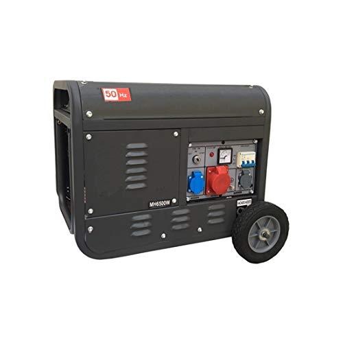 Gruppo elettrogeno/Generatore di corrente 2800W - 220/380V avviamento elettrico con chiave e telecomando carrellato - Hammer
