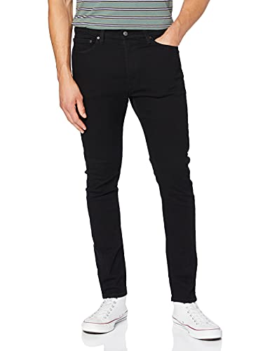 Levi's 05510 Jeans, Black Leaf ADV, 32 Homme