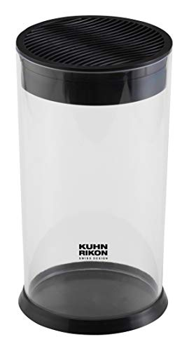 Kuhn Rikon Vision - Bloque de cuchillos (12 x 12 x 22,5 cm)