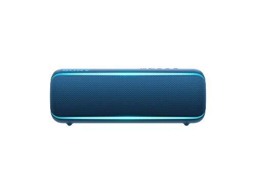 Sony SRS-XB22 Extra Bass Portable Bluetooth Speaker, Blue (SRSXB22/L)