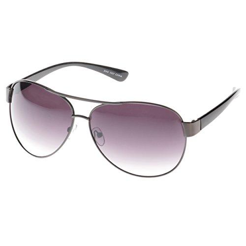 SWG EYEWEAR Gafas de sol de lujo Celebrity Gafas de sol 1007BK marco preciso UV400 lente gradiente