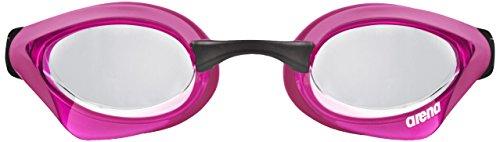 Arena Cobra Core, Occhialini da Triathlon Unisex Adulto, Rosa (Clear/Pink/Black), Taglia Unica