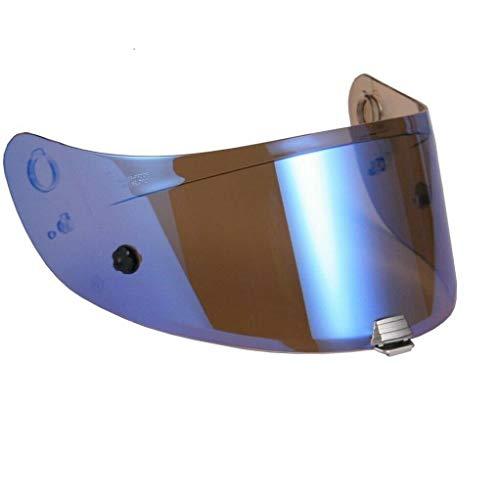 Visera para casco de moto HJC RPHA10 Plus azul espejo HJ20P