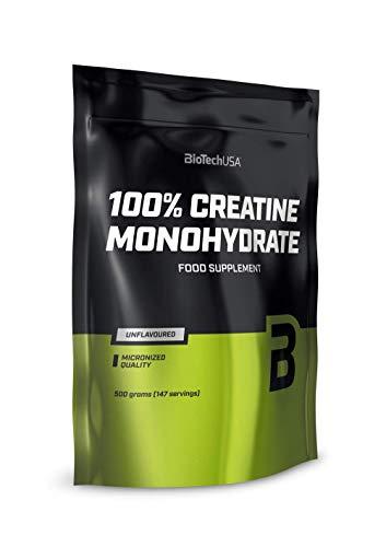 BioTechUSA 100{99fda2e4c0f73303f8596bd5717f8ba62620dc9d1ca83bfa44739486ad66809e} Creatine Monohydrate, 500g Beutel