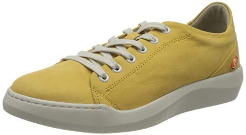 Softinos Damen BAUKII579SOF Sneaker, Gelb (Bumblebee 009), 39 EU