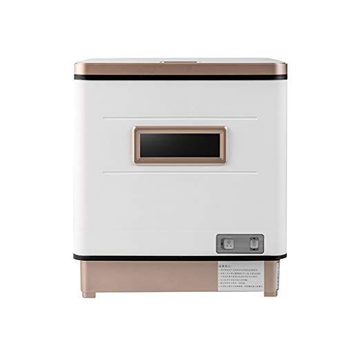Garny Lavavajillas pequeño, lavavajillas doméstico Inteligente automático, diseño de bajo Consumo, bajo Nivel de Ruido, sin instalación