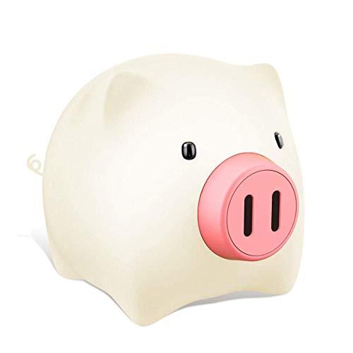 Wandstalen lamp op bed, met instelbare helderheid, leuke Piggy baby-nacht-accu zorgt ervoor dat het leven Fabulous cadeau-idee ABS + siliconen wandverlichting