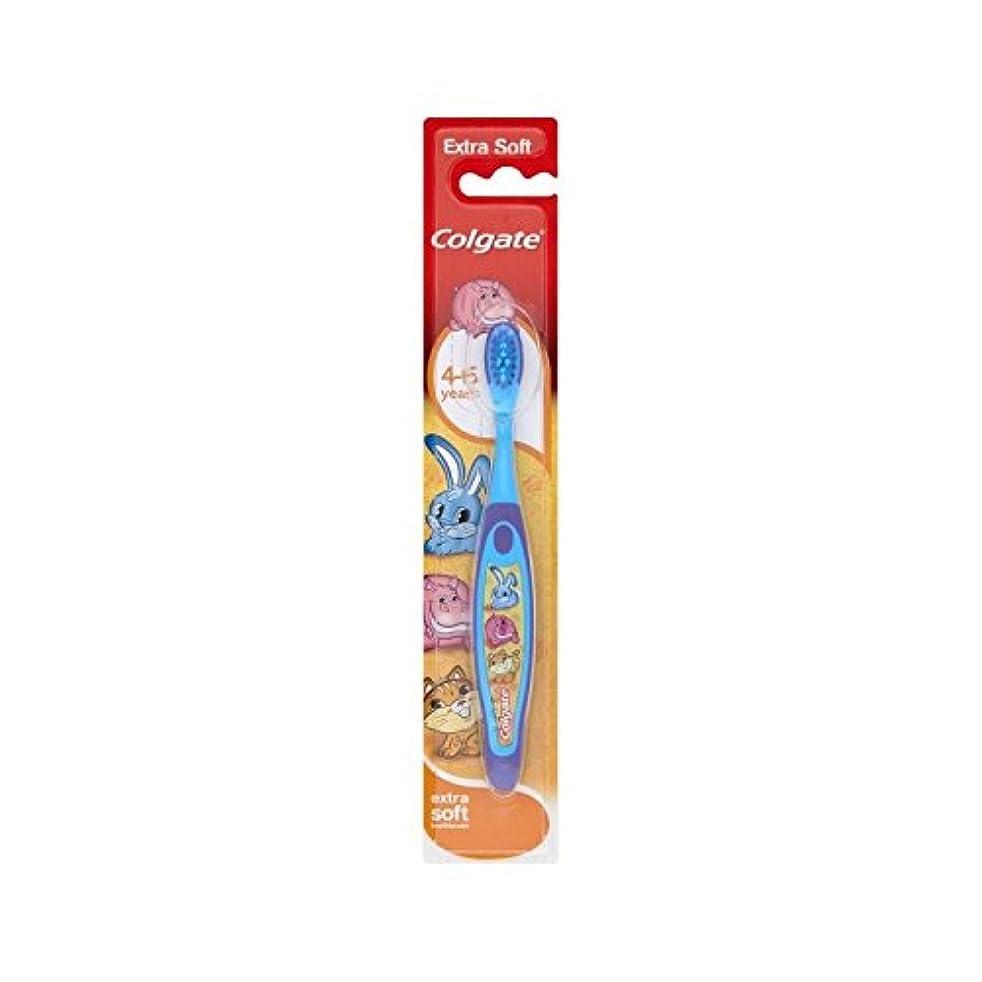 熱じゃがいもスカート4-6歳の歯ブラシを笑顔 (Colgate) - Colgate Smiles 4-6 Years Old Toothbrush [並行輸入品]