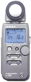 New Sekonic L-358 Flash Master Flash Light Meter L358