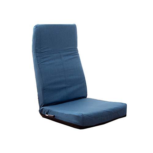 TLMYDD Canapé Paresseux Simple Chaise Pliante Baie Vitrée Dossier Chaise Fauteuil Paresseux Inclinable Canapé Canapé Paresseux (Couleur : A)