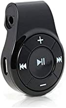 Bluetooth Receiver/Car Kit, Bluebyte Clip Wireless Audio Receiver for Headphones car Audio,Wireless Adapter Support Hands-Free Calling,Bluetooth 5.0 Low Latency for Music(Glossy Black).