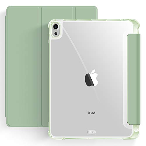 Capa iPad Air 4a Geração 10.9″ WB - Ultra Leve Auto Hibernação Antichoque Verde Menta