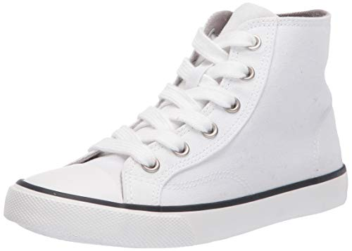 Plain White Canvas Kid Shoes