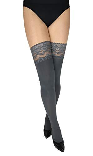 Marilyn ondoorzichtige sokken zonder beugel met 9 cm punt, 100 denier