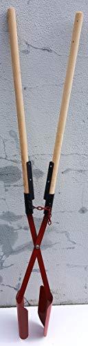 Handbagger,verstärkte Stielaufnahme,Lochspaten,Erdlochausheber Größe 2