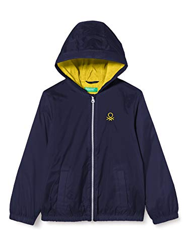 United Colors of Benetton 2BL553J70 Giacca, Peacoat 252, XL Bambino