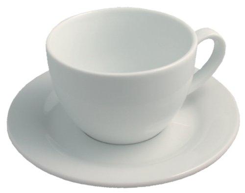 Revol 616074 Lipari Paire Tasse Cappuccino Porcelaine Blanc 7,5 cm