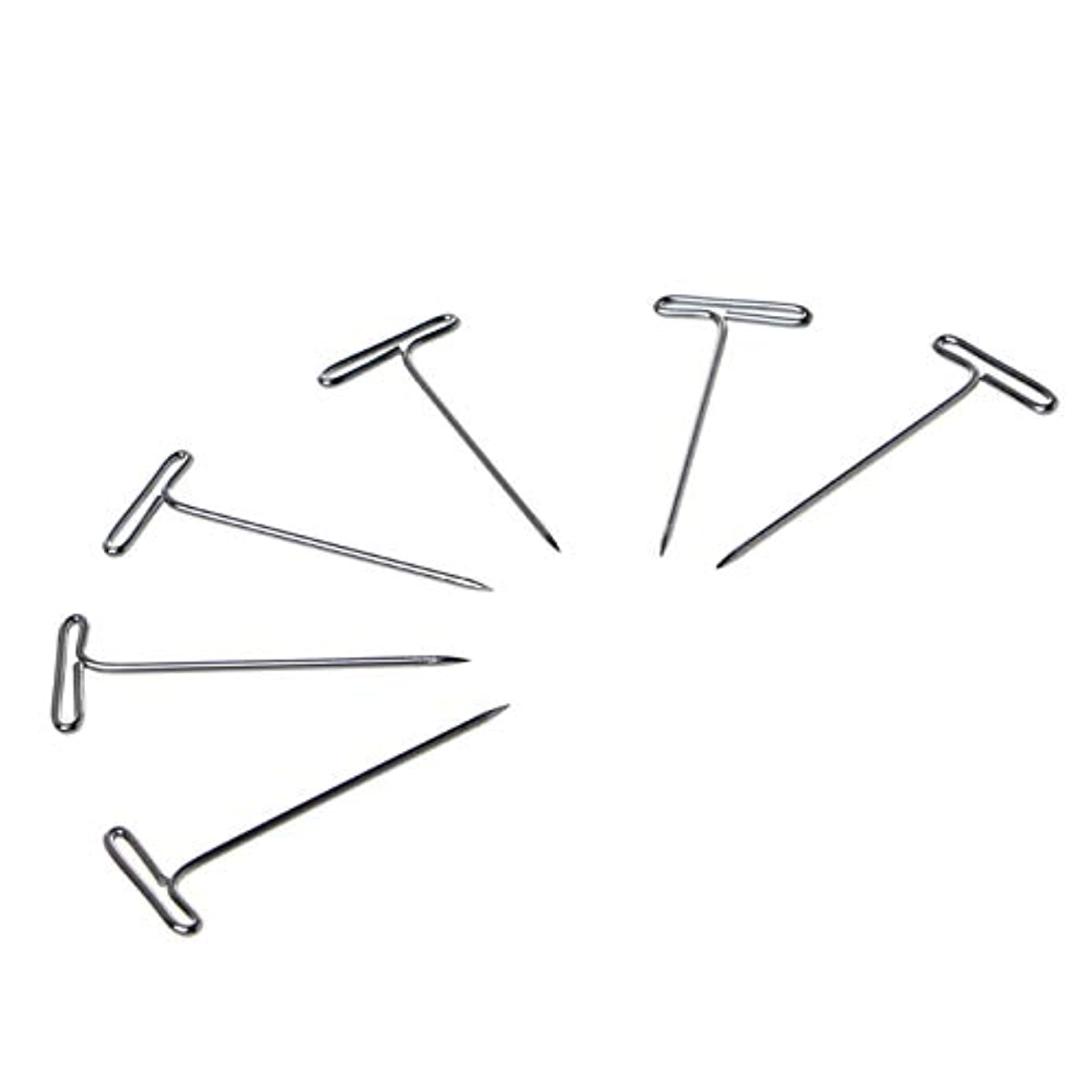 New-Sky-View - 100 Pcs T Pins Needle For Wig On Foam Head Style Head Sewing Hair Salon Tools