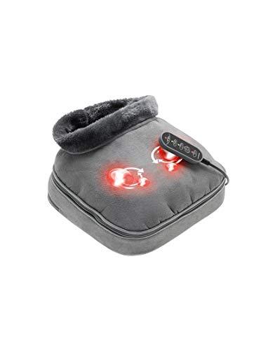 Lanaform Shiatsu Comfort 2 en 1 – Masseur chauffant électrique pour corps et pieds