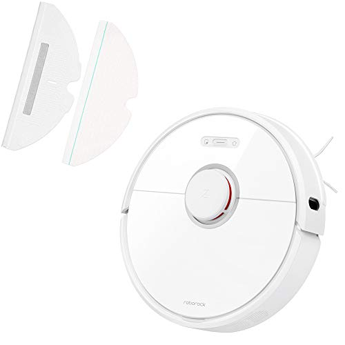 Purchase Roborock S6 Robot Vacuum and Disposable Mop Kit.