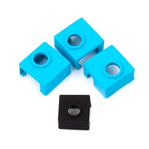 3D Printer Parts, FYSETC 3D Printer Heater Block Silicone Sock MK7 MK8 MK9...