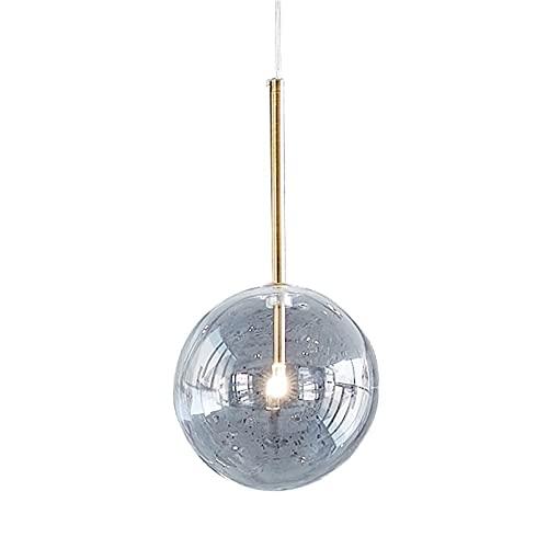 Accesorio de iluminación Luz del colgante de techo de bola de cristal transparente DIRIGIÓ Dormitorio Cafe Mall Chandelier Iluminación Decoración G4 Luxury Creative Fashion Pendant Light Decoration Co