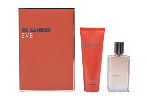 Jil Sander Eve Geschenkset femme/ woman Eau de Toilette Vaporisateur/ Spray 30 ml, Bodylotion 75 ml, 1er Pack, (1x 105 ml)