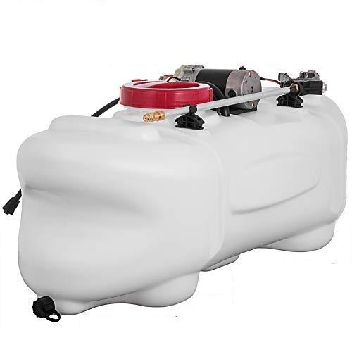 BuoQua Pulverizador Eléctrico para Vehículos 60L, 1,3 GPM, con Manguera de 5m 12 V, Tanque Rociador con Bomba para Agricultura de Césped de Jardín