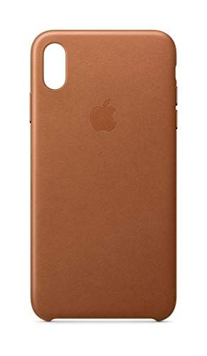 Apple Leder Case (Iphone Xs Max) - Sattelbraun