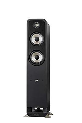 Polk Audio S55E Signature Polk Audio Signature S55 E Floor Speaker Black/Black from Polk Audio
