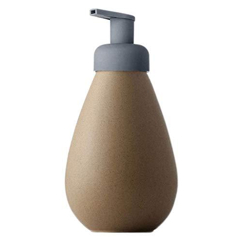 Dispensador de jabón de cocina La formación de espuma de jabón Dispensador de jabón de espuma cerámica dispensador (23,7 oz) Capacidad grande de dispensador de jabón recargable y Eco friendly dispensa