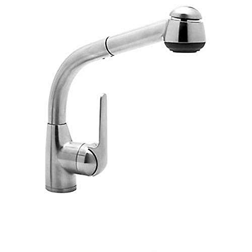Rohl R7913APC De Lux Side Lever Pull-Out Kitchen Faucet