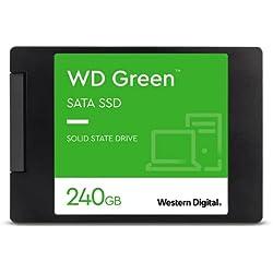 Western Digital WD Green Interna SSD 2.5´´ SATA, Verde, 240 GB