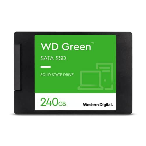 SSD Wd Green 2.5´ 240Gb SATA IIi 6Gb/S Leituras. 545Mb/S e Gravações. 465Mb/S - Wds240G2G0A
