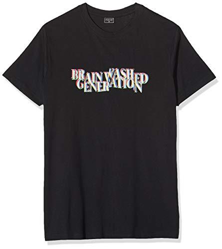 Mister Tee Herren Brainwashed Generation Tee T-Shirt, Black, M